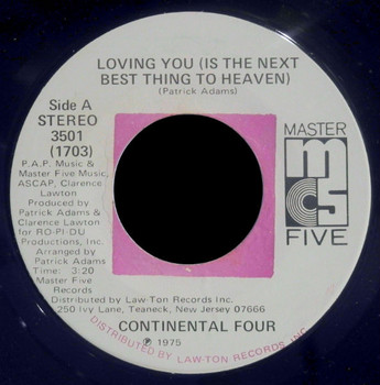 Loving You Is the Next Best Thing to Heaven (by Continental Four).jpg
